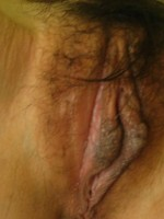 Chinese GF's hairy pussy