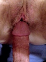 Yea I luv the wifeys hairy pussy!!