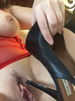 Exchange Your Cock for this Heel