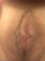 Pussy after oral pleasure