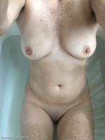 Wife in the bath