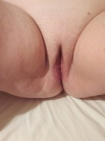 my wife loves showing her pussy