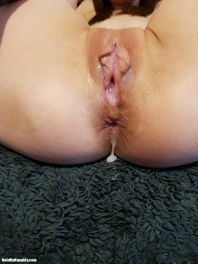 Petite wife takes Pussy and Anal creampies