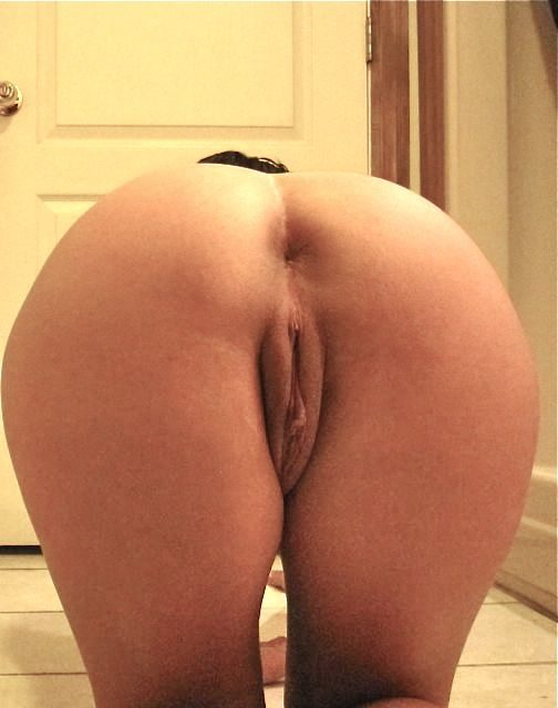 Bent over ass and pussy pics